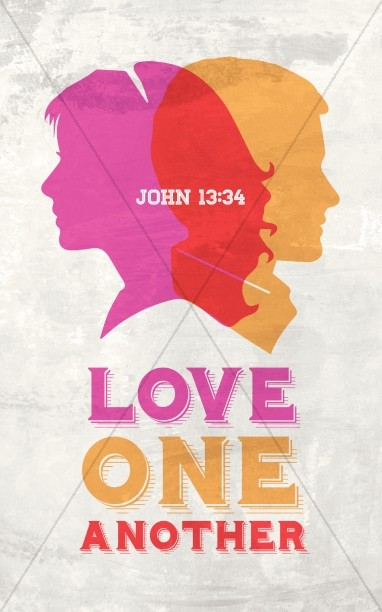 Love One Another Religious Bulletin