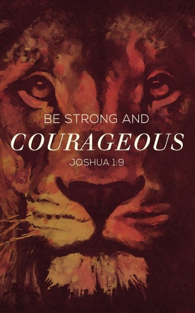 Be Strong and Courageous Ministry Bulletin