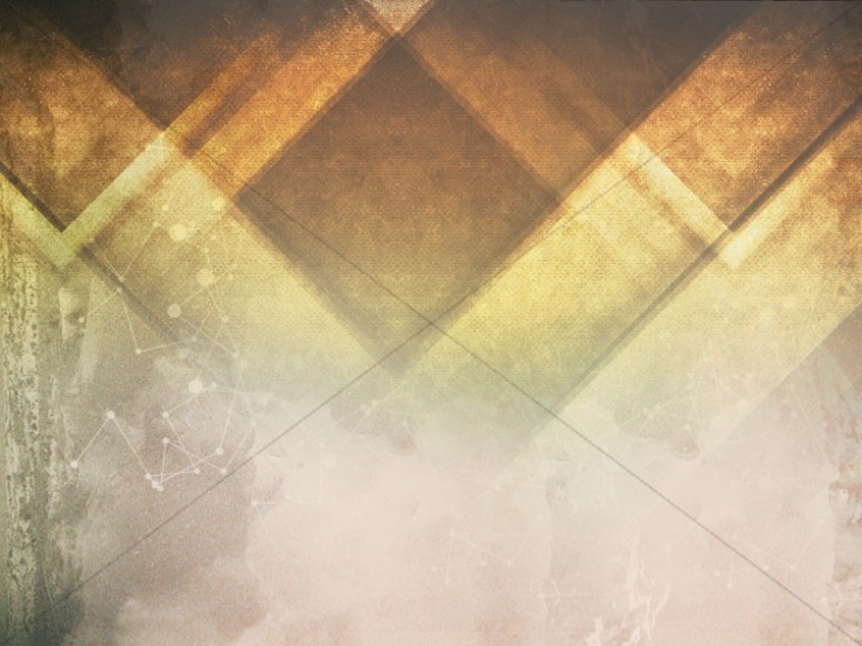Triangle Orange Chursch Background
