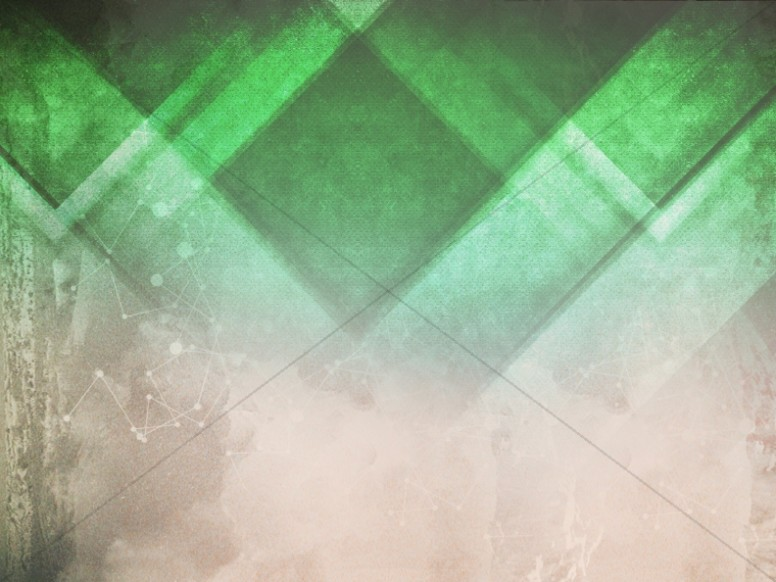 Triangle Green Church Background