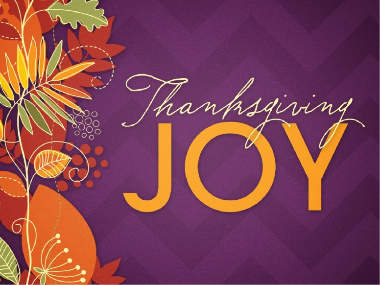 Thanksgiving Joy Religious PowerPoint