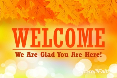 Free Fall Welcome Church Video