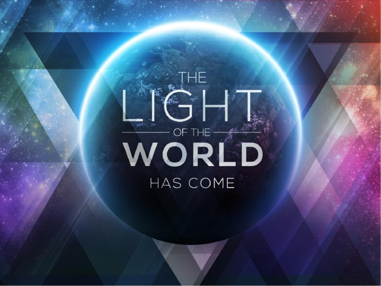 Light of the World Galaxy Religious PowerPoint