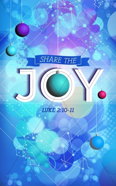 Share the Christmas Joy Religious Bulletin