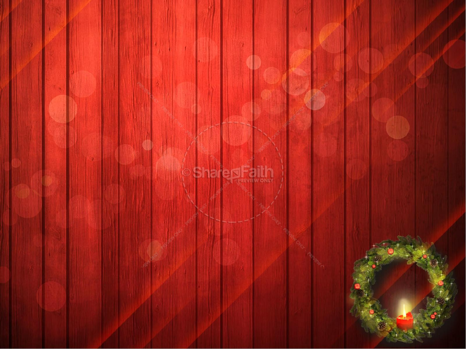 Let Your Light Shine Christmas Religious PowerPoint ...