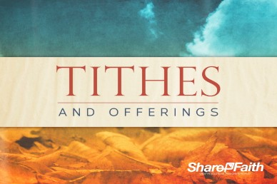 His Command Tithes and Offering Ministry Video Loop