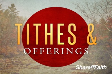 My Help Comes from You Ministry Tithes and Offerings Video Loop