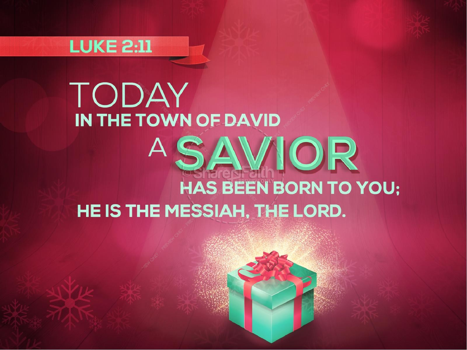 Jesus Gift of Salvation Ministry PowerPoint | slide 3