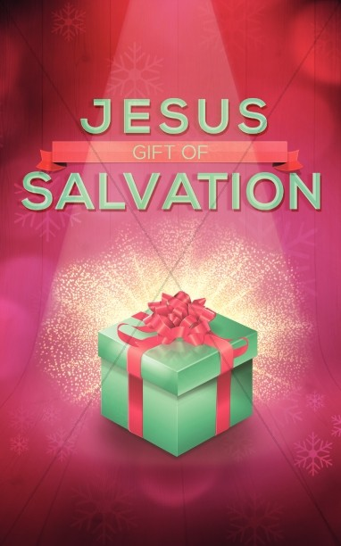 Jesus Gift of Salvation Religious Bulletin