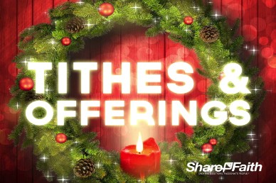 Let your Light Shine Christmas Tithes and Offerings Video Loop
