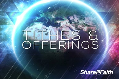 Light of the World Galaxy Tithes and Offerings Video Loop