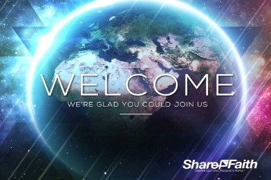Light of the World Galaxy Church Welcome Video Loop