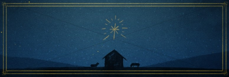 God's Gift to Us Christmas Website Banner