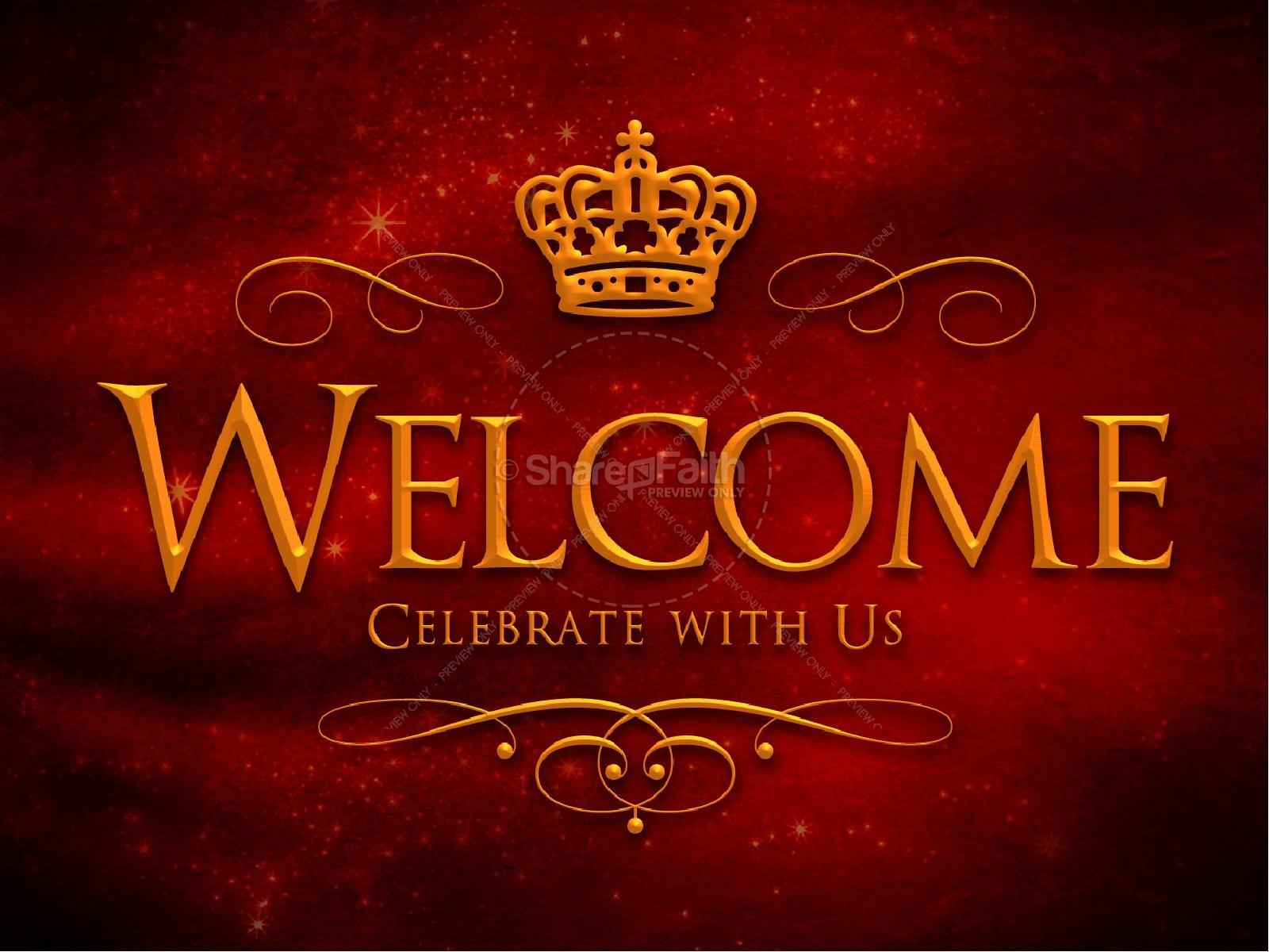 King of Kings Christmas Ministry PowerPoint | slide 2