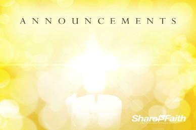 Messiah Emmanuel Christmas Announcements Video