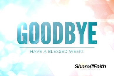 A fresh Start Ministry Goodbye Video