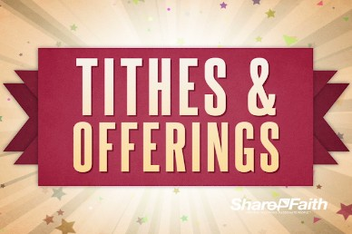 Happy New Year Burst Ministry Tithes and Offerings Video
