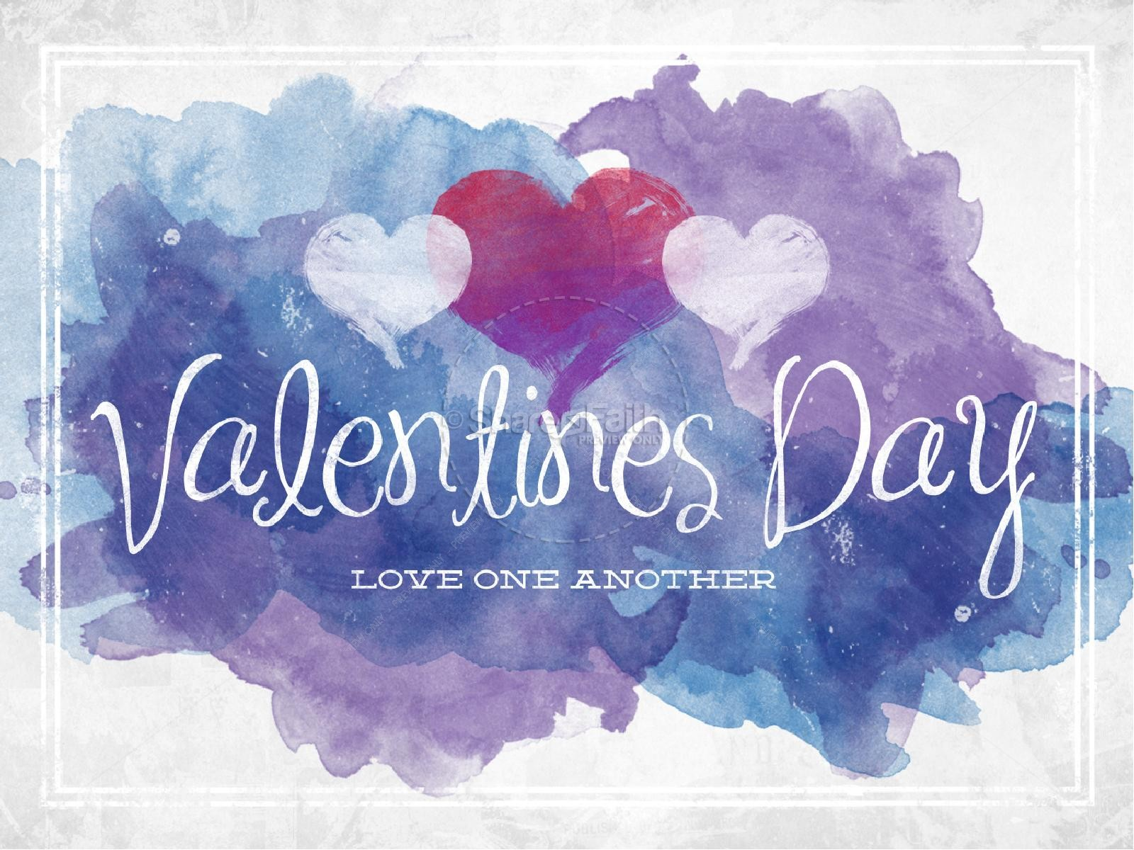 Love One Another Valentines Day Christian Powerpoint Valentines