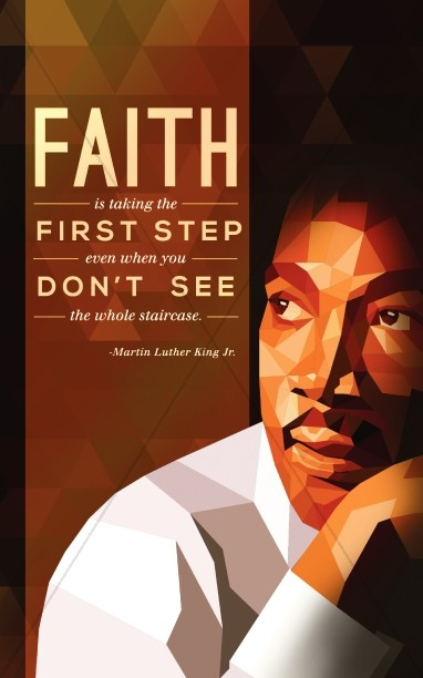 MLK on Faith Christian Bulletin