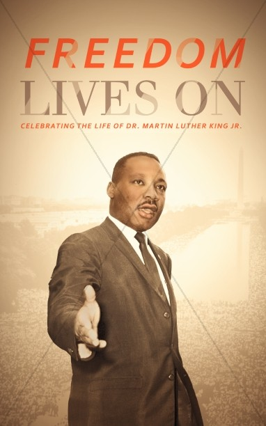 Martin Luther King Jr Freedom Bulletin Cover
