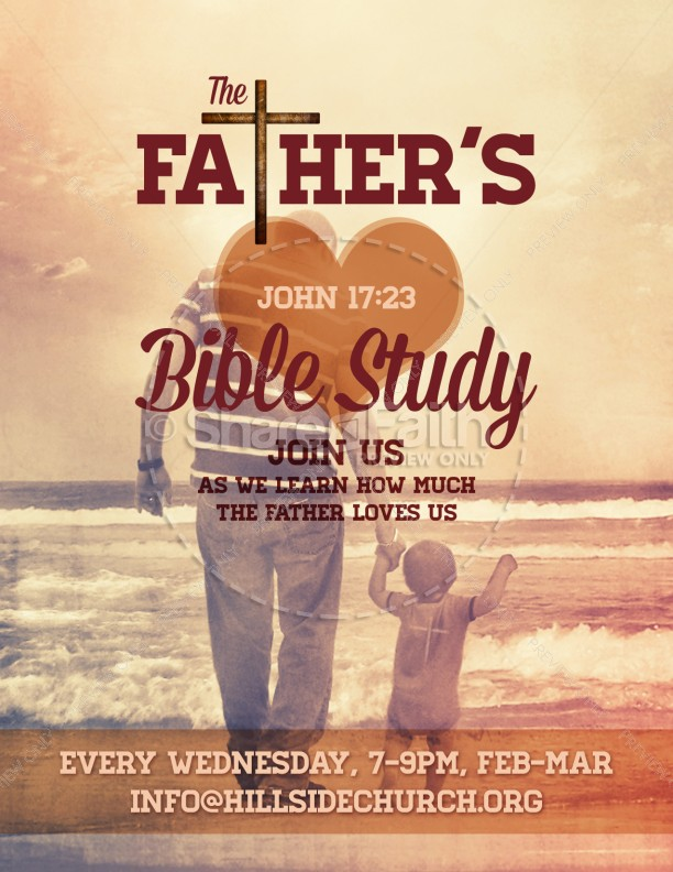The Love of the Father Ministry Flyer