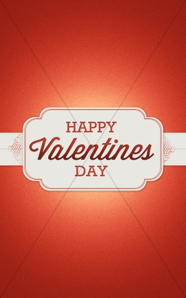 Happy Valentine's Day Christian Bulletin