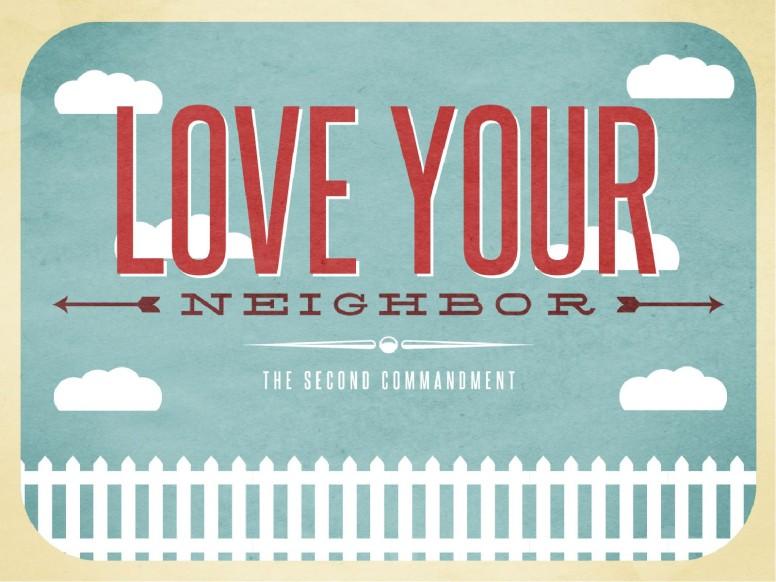 Love Your Neighbor Christian PowerPoint