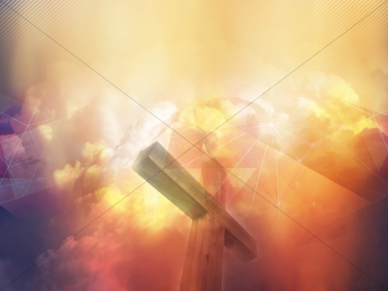 Center Cross Worship Background