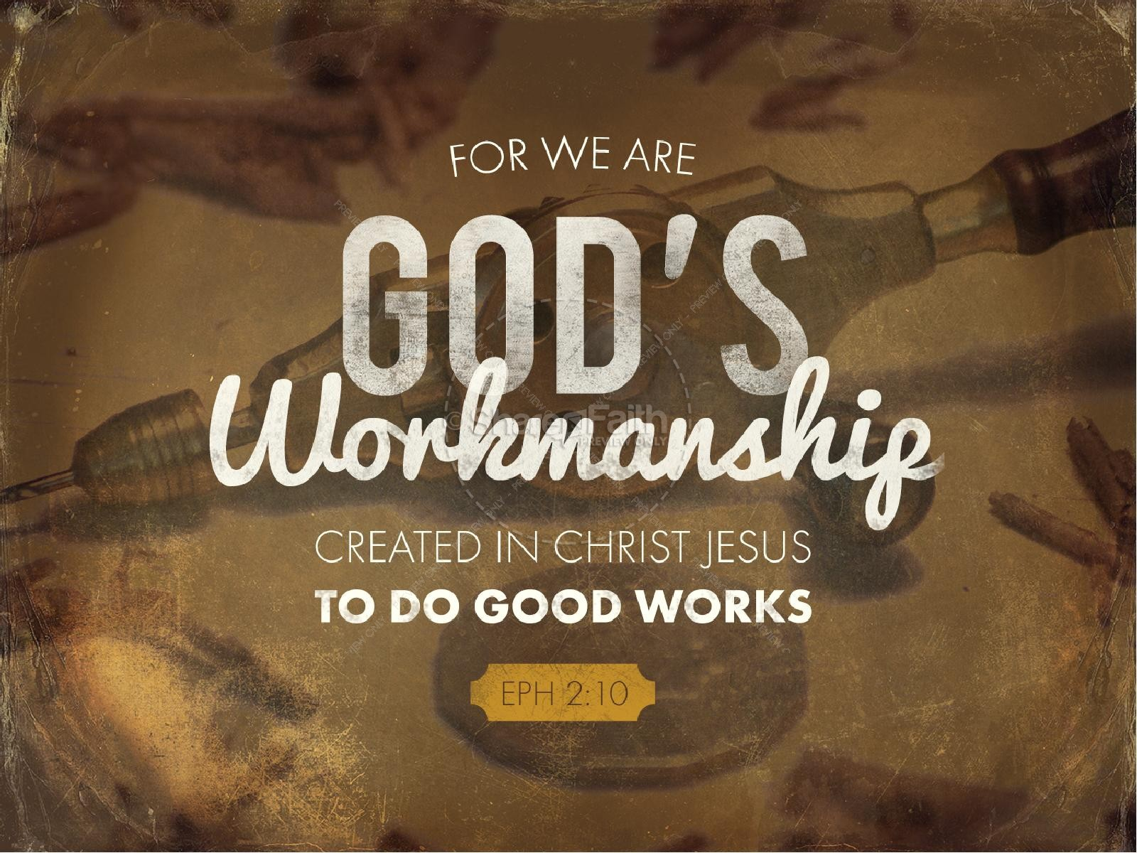 God's Workmanship Religious PowerPoint