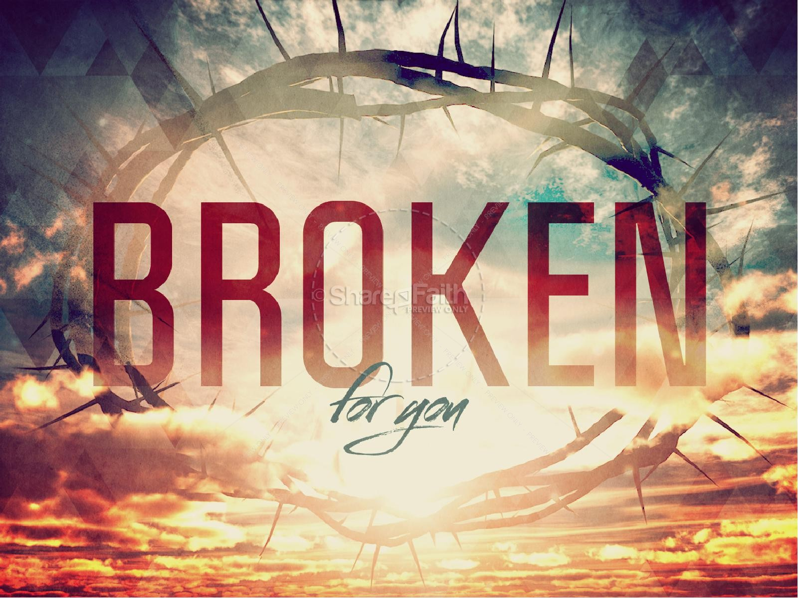 Broken for You Easter Graphics