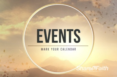Abstract Mountain Ministry Events Video