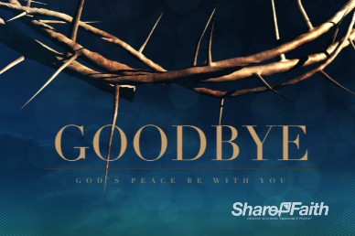 Crown of Thorns Easter Goodbye Video