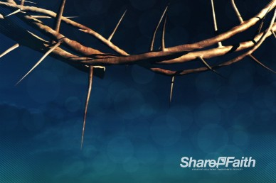 Crown of Thorns Easter Worship Video