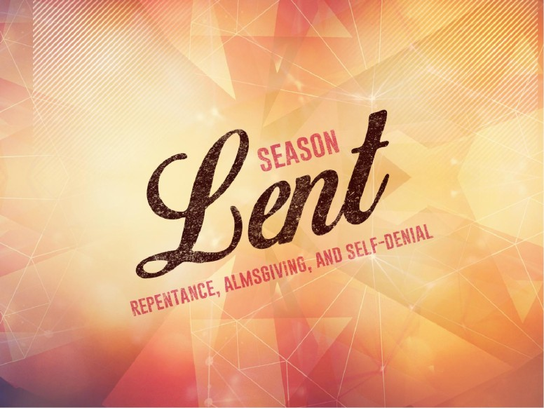 Season of Lent Religious PowerPoint