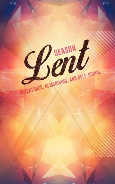 Season of Lent Religious Bulletin