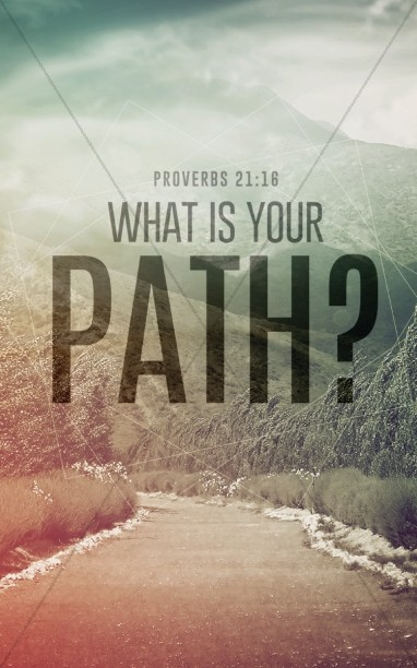 What is Your Path Christian Bulletin