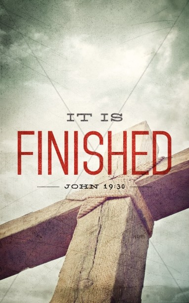It is Finished Ministry Bulletin