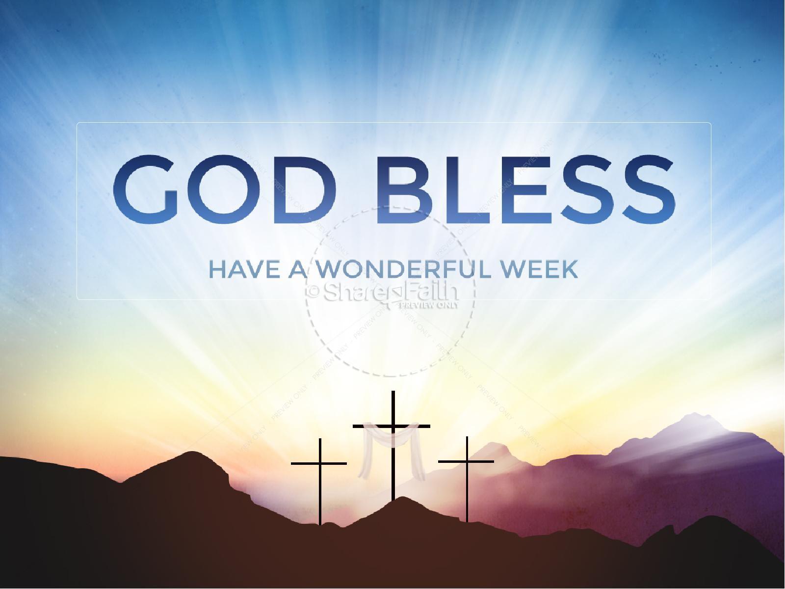Resurrection Sunday Easter Graphics Ministry PowerPoint | slide 6