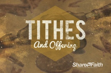 God's Workmanship Religious Tithes and Offerings Loop