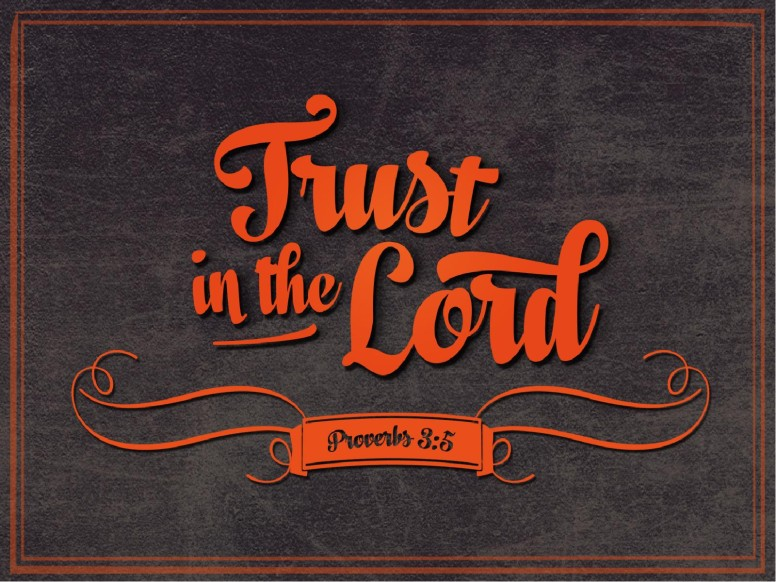 Trust in the Lord Church PowerPoint