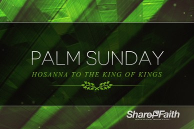 Palm Sunday Religious Video Loop