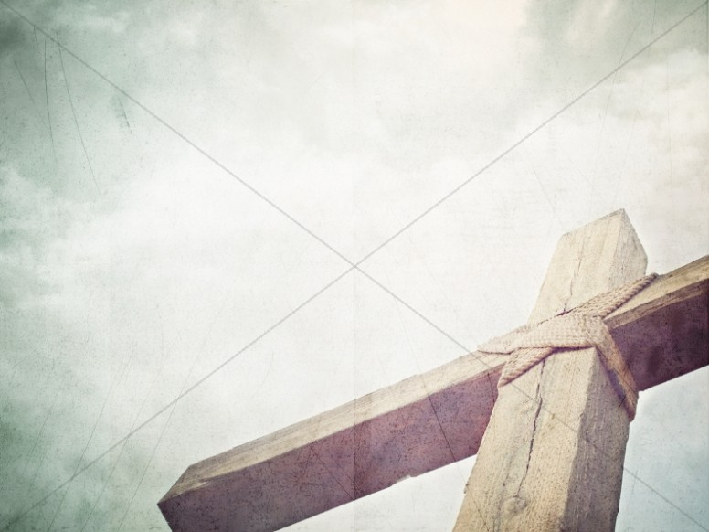 Cross To The Heavens Christian Worship Background