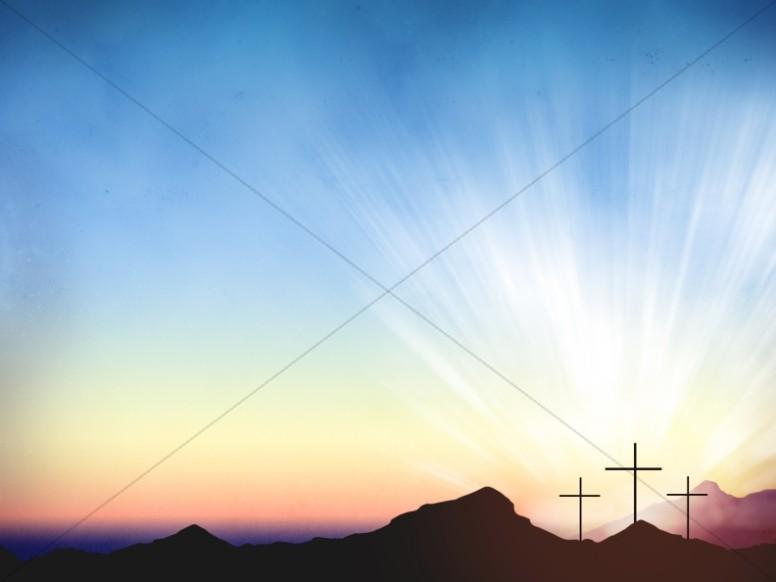 Resurrection Powerpoint Background