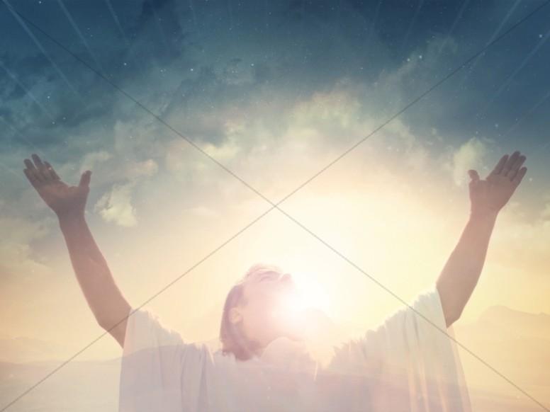 Jesus Risen Savior Christian Wallpaper