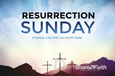 Resurrection Sunday Easter Church Intro Video