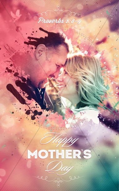 Splash of Love Mother's Day Bulletin
