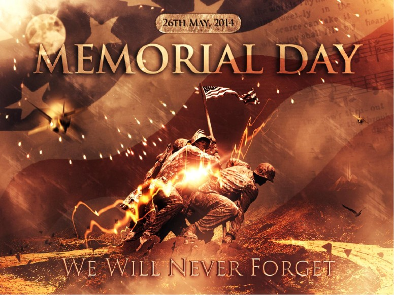 Never Forget Memorial Day Sermon PowerPoint