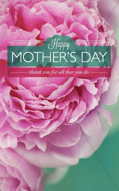 Mothers Day   Beautiful Mother's Day Cards Bulletin Cover