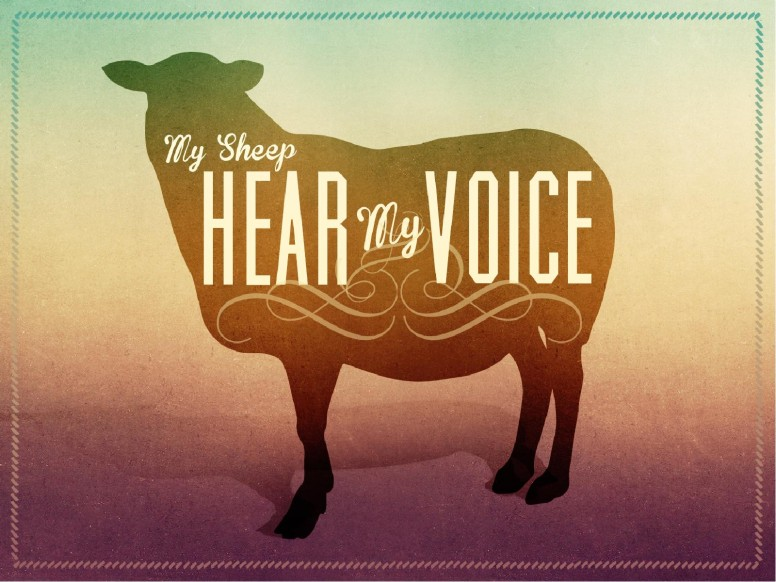 My Sheep Hear My Voice Christian PowerPoint