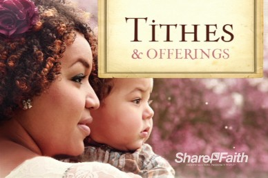 Thank You for All You've Done Mother's Day Tithes and Offerings Video Loop